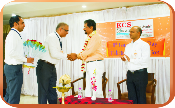 Honouring the Chief Guest Dr. M. K. Verma